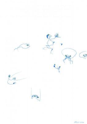 Blaue Tiere 2