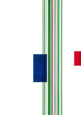 Blaues Rechteck, rotes Rechteck