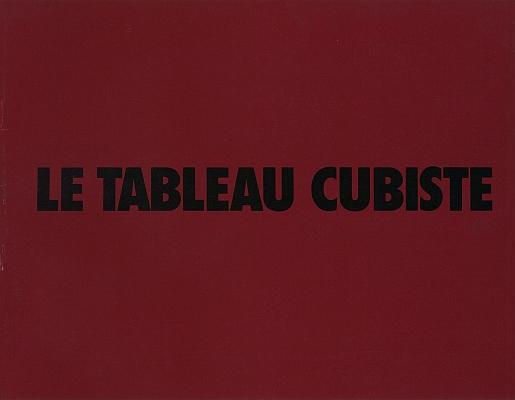 """Katalog: """"Le tableau cubiste"""""""