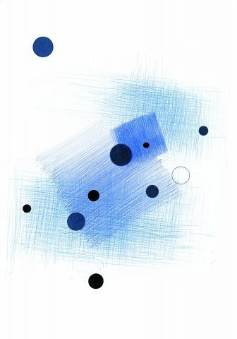 Blaue Scheiben, schwarze Scheiben