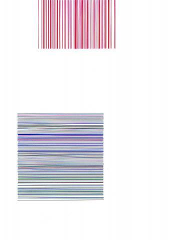 Blaue Linien, rote Linien