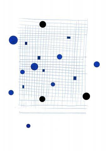 Blaue Scheiben, schwarze Scheiben 2