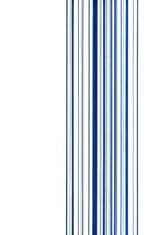 Blaue Vertikale