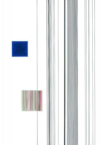 Blaues Quadrat 1